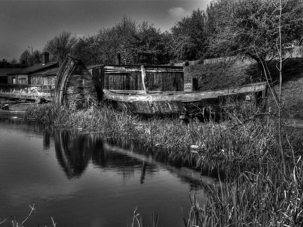 Boat Yard by tony147