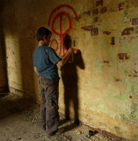 graffiti kid by tony147