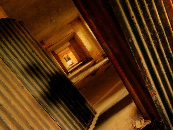 corrugated corridor by tony147