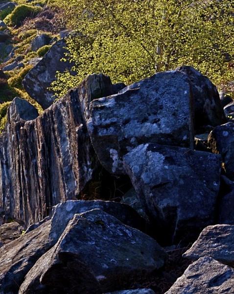 Curbar Rocks by alansdottir