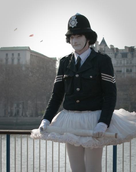 Police-ballerina by violet_girl