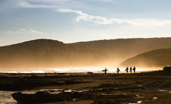 5 Mates, 1 Secret Surf Spot by fourdavisons