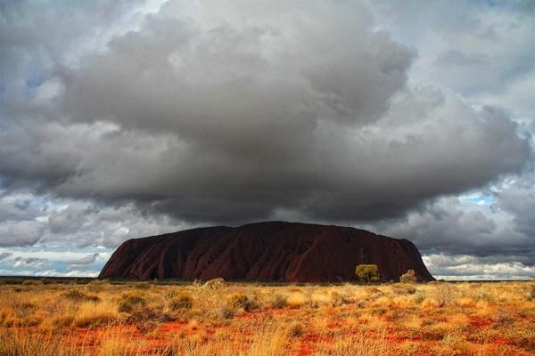 Ayers Rock Under The Weather by fourdavisons