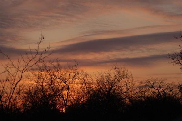 African Sky II by IOWAndy