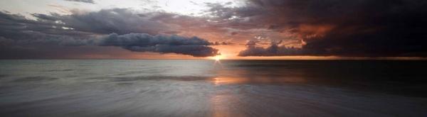 Cervantes Sunset Storm by soppygreatdane