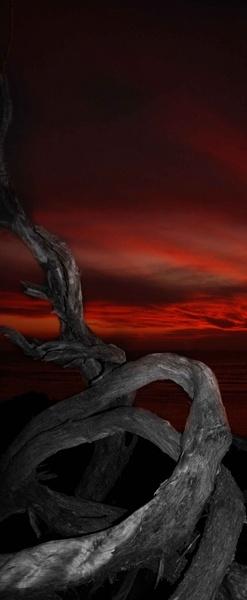Yallingup Beach Sunset by soppygreatdane