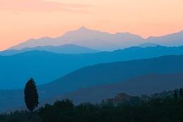 Blue hills of...Tuscany