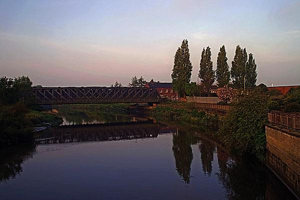 Bridge Over Calm Waters by minicooper