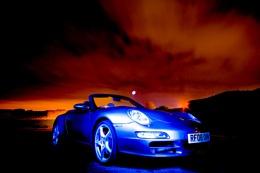 Porsche by Moonlight