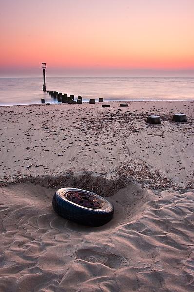 Deflated Sunrise by kennyoak