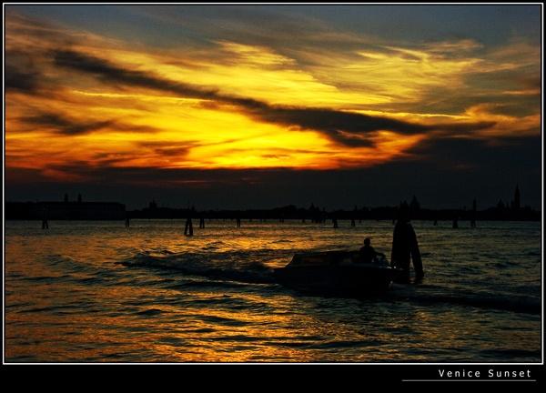 Venice Sunset by 11thearlofmar