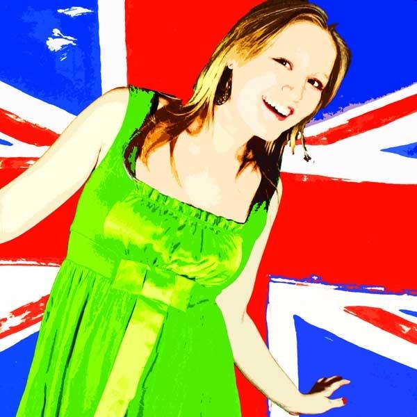 Daisy flying the flag by MarkBowker