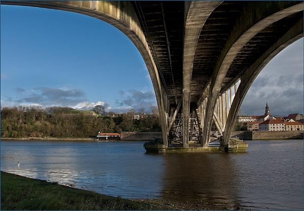 Beneath Berwick Road Bridge by hwilkinson