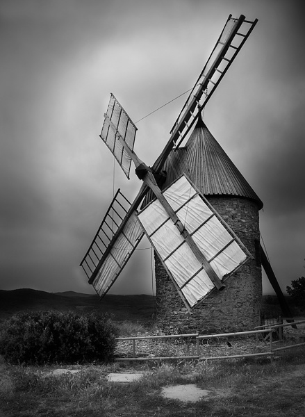 Moulin a Faugeres, Languedoc by Coast