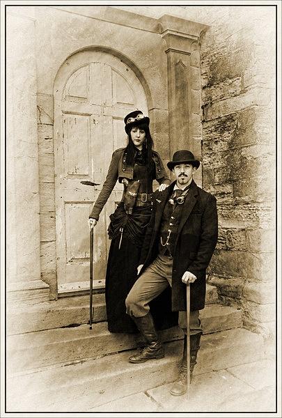Sir Ninian Marsh & Lady Georgina Marsh by stevenb
