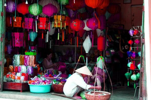 Vietnamese Lanterns by afirth