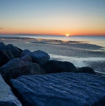 Reculver sunset by rhys47