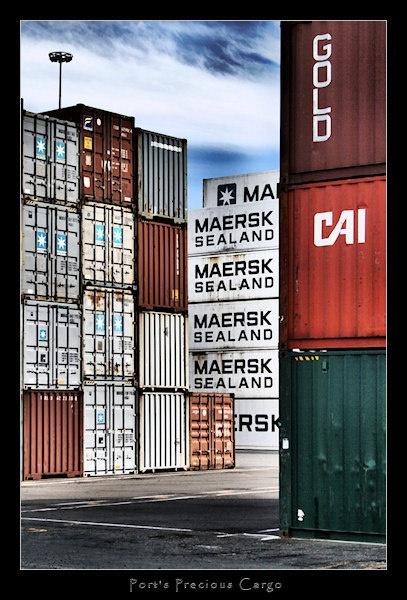 Port\'s Precious Cargo - Port Taranaki, NZ. by SteveNZ