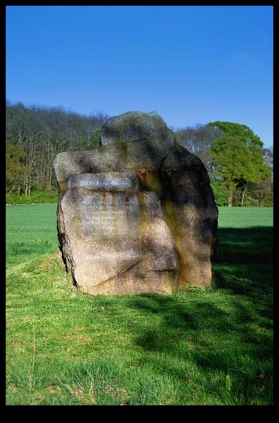 Millenium Rock Ramsden Heath by RodgeEvans