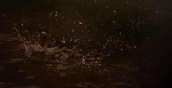 Raindrop Splash by Saibal
