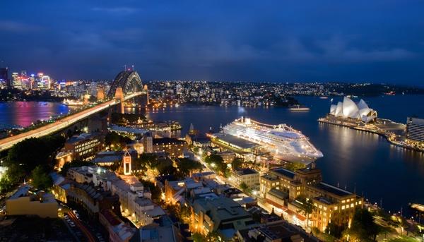Sydney Harbour View by fourdavisons