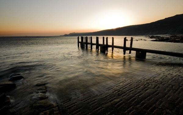 The Boat Ramp sunrise by soppygreatdane