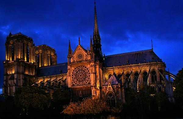 Notre Dame Paris by bruce295