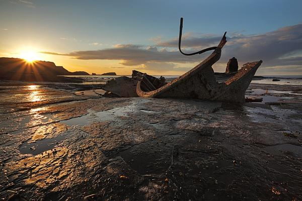 Sun Over Saltwick by LeighRebecca
