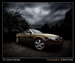 Audi A4 Cabriolet - Stuart G Loch Photography