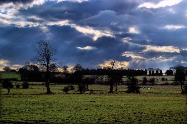 evening sky by Kenfromsot
