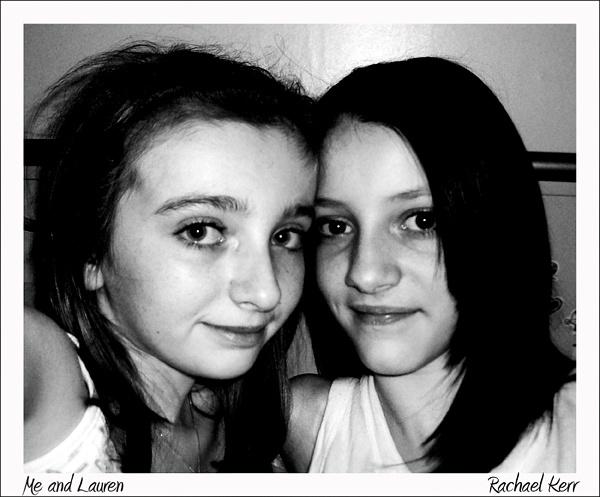 Me and Lauren by rachaelk