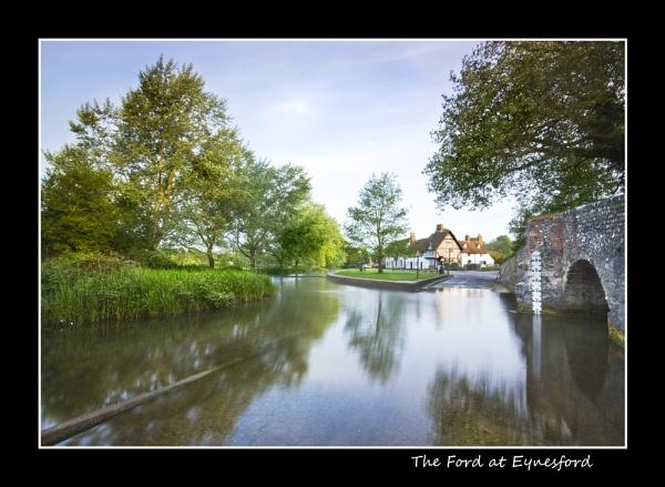 The Ford at Eynesford Kent by derekhansen