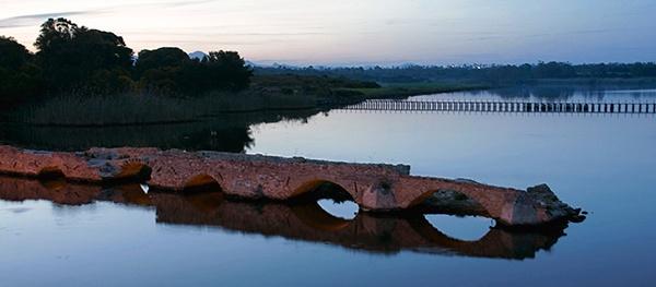 Remains-of-old-Roman-bridge-at-Fitelia by jamesda