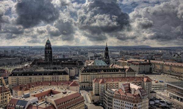 Dresden Skyline in HDR by fourdavisons