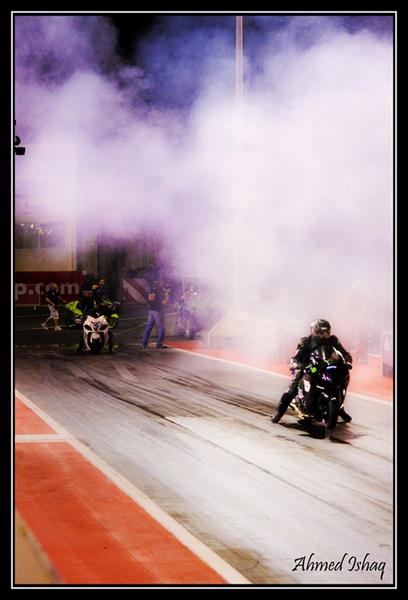 Motorbike racing by livermilan