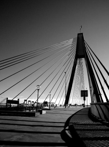 Anzac Bridge by roy2d2