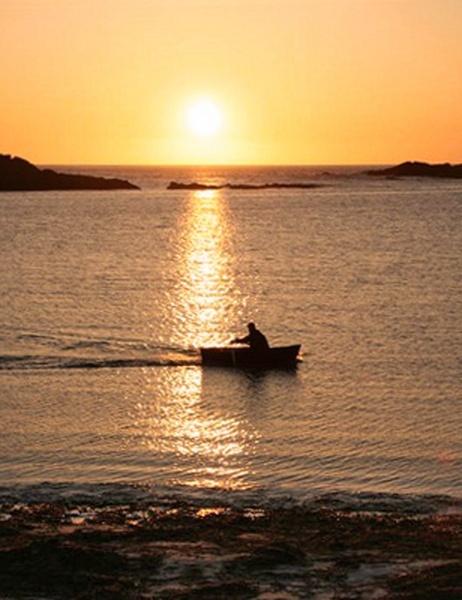 sunset by pringle