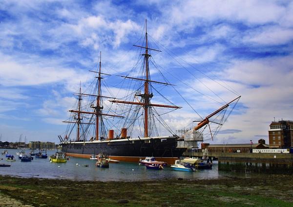 HMS Warrior by chensuriashi