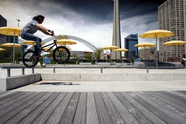 BMX Jump by wupohan