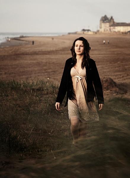 Hannah Walking by LeighRebecca