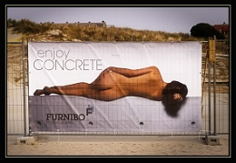 Enjoy concrete.