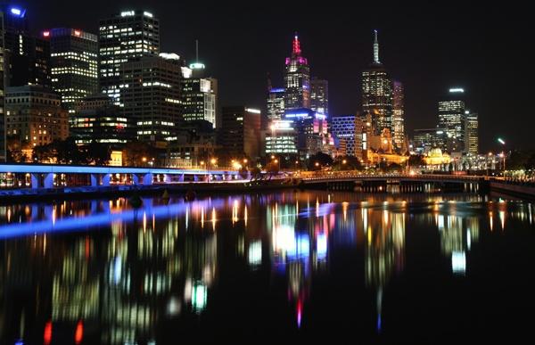 Melbourne Reflections by fourdavisons
