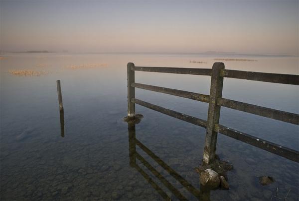 Lake Dawn by mike sharples