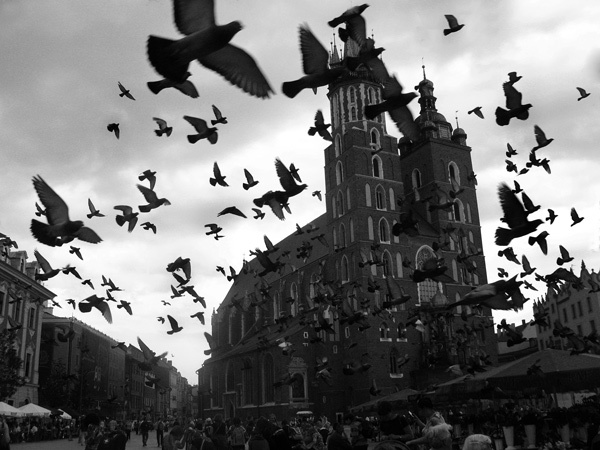 Krakow Market Square by mcgoo