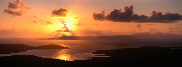 The Small Isles by landandlight