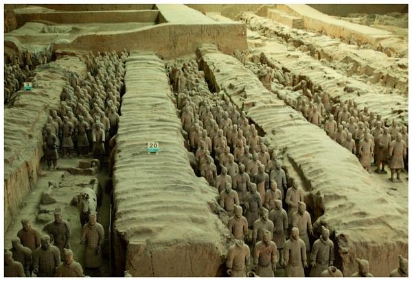 Terracotta Army by Clayey