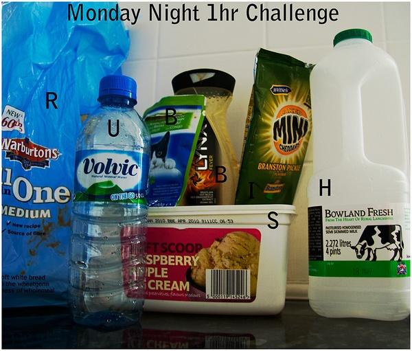 Monday Night 1hr Challenge by mcgannc