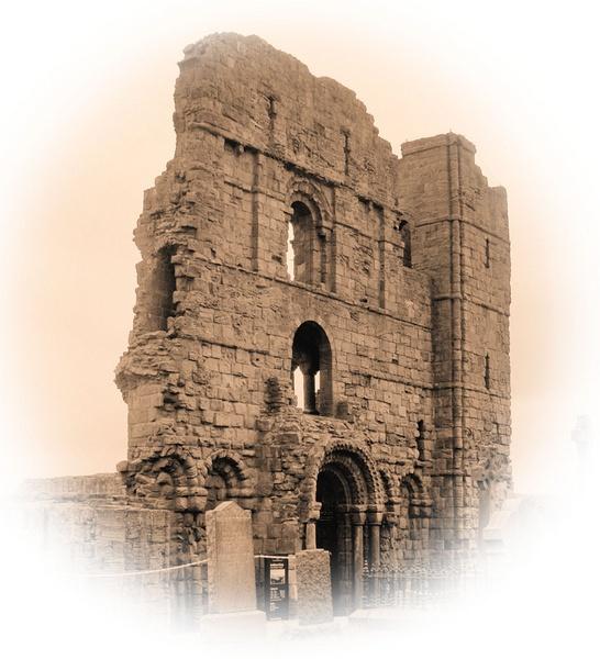 Lindisfarne Priory by ClairelouD