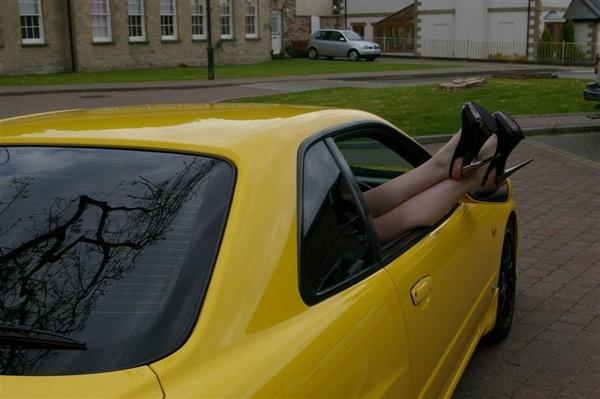 Feet outta window by elf69