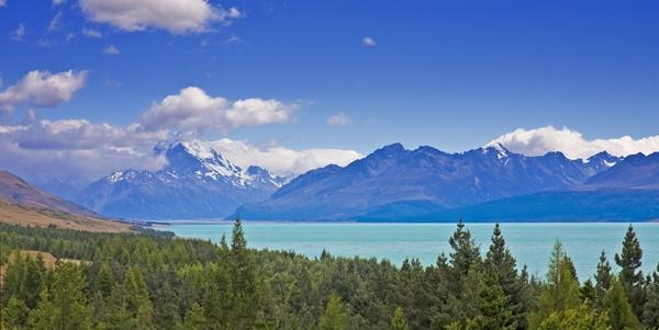 Lake Pukaki and Mt Cook by fourdavisons